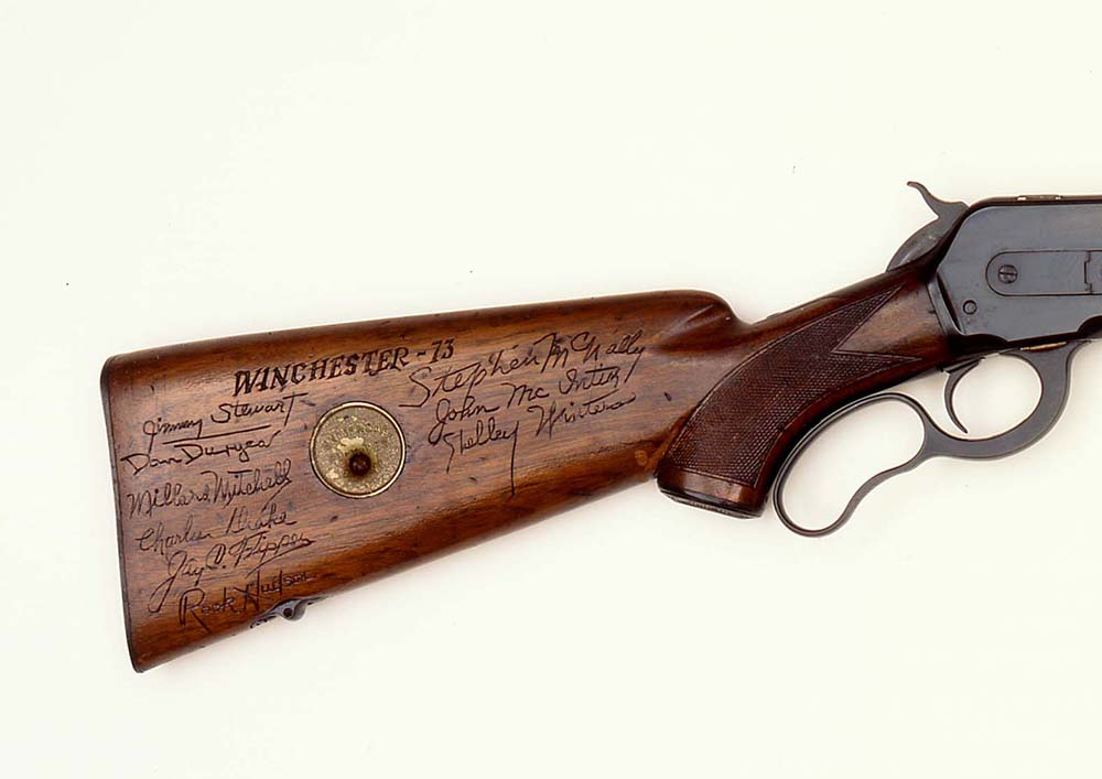 Herb Parson's Winchester 1871. 2003.15.16 (detail)