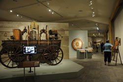 Buffalo Bill Museum: wagon. BuffBill-01CG