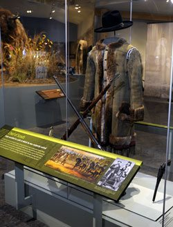 The Scout exhibit in the Buffalo Bill Museum