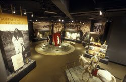 Plains Indian Museum: Buffalo and the People. Indian-01CG