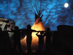 Plains Indian Museum: Seasons of Life. Indian-02SC