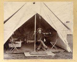 William F. Cody: show tent. PhotoBB-01