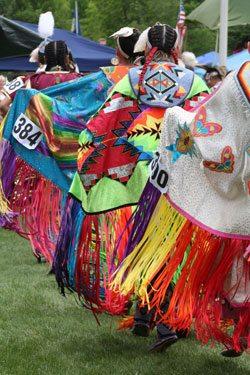 Plains Indian Museum Powwow: Fancy Shawl. Powwow02-NM