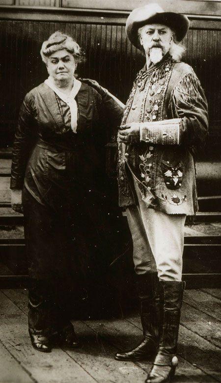 Louisa and William F. Cody. P.71.500.1