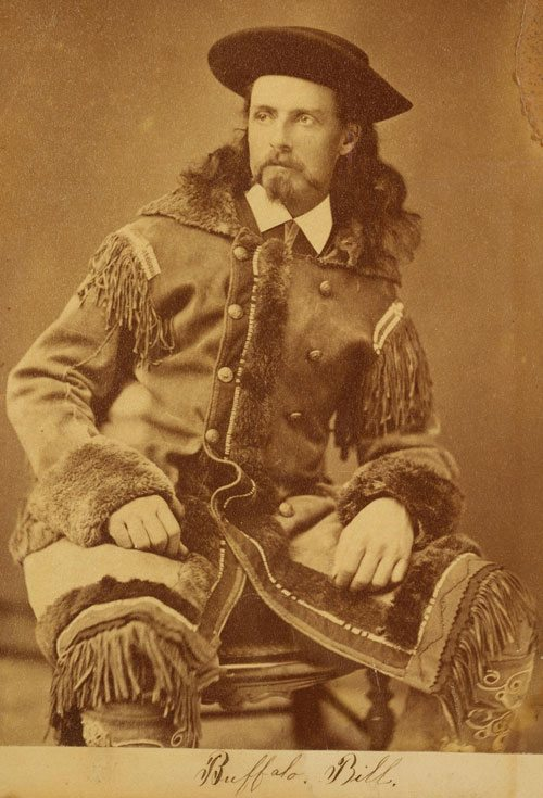 "William F. ""Buffalo Bill,"" Cody, ca. 1872. P.69.26"
