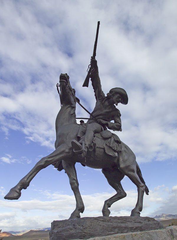"Gertrude Vanderbilt Whitney' (1975 - 1942). ""Buffalo Bill - The Scout."" Gift of the Artist. 3.58"
