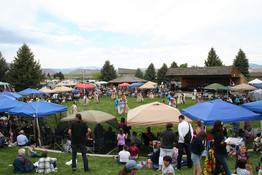 Our Robbie Powwow Garden is also ideal for musical performances and trade shows