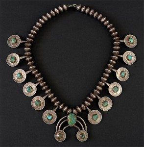 Necklace. Loan from Naoma Tate.