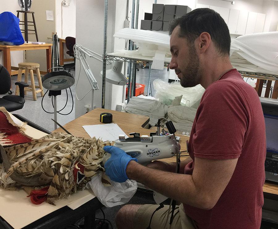 Conservation Intern Alaggio Laurino