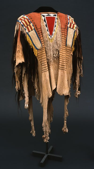 Northern Plains shirt from the Paul Dyck collection. NA.202.1184