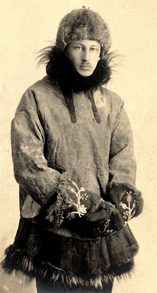 Harold McCracken, ca. 1918. MS305.05.010