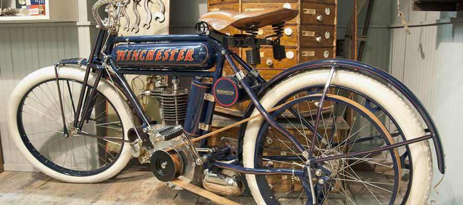 Winchester motorcycle. L.372.2012.1