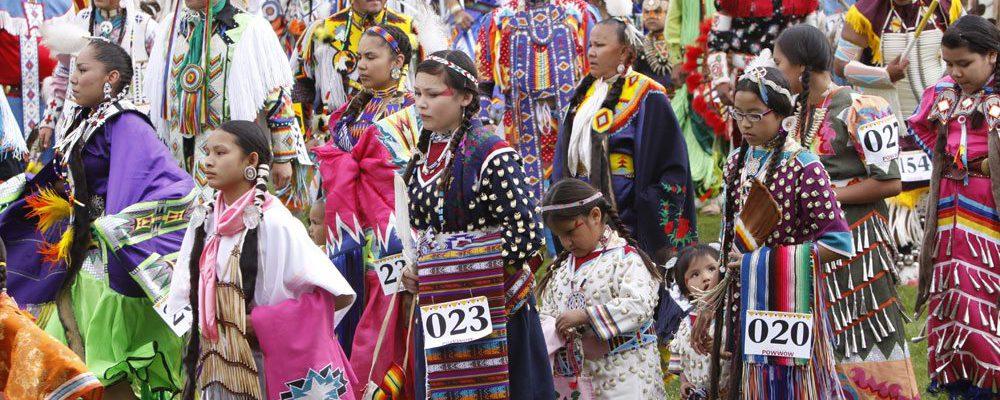 Powwow Grand Entry, 2011. Photo by Ken Blackbird