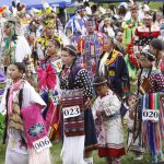 Powwow Grand Entry, 2011. Photo by Ken Blackbird