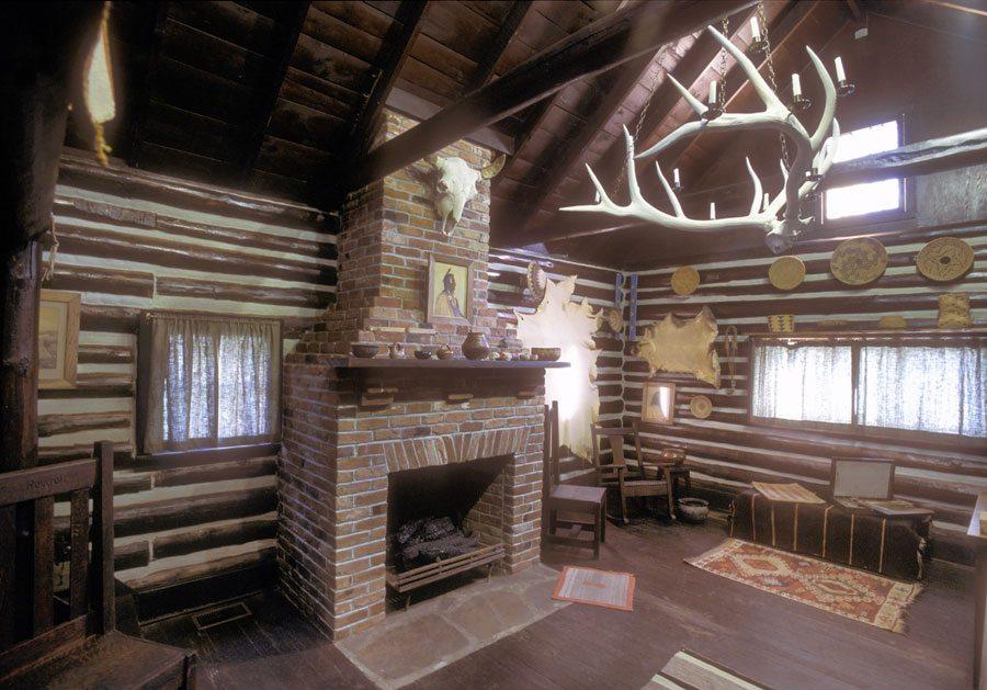 Joseph Henry Sharp's Absarokee Hut