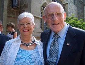 Bob and Geraldine Dellenback