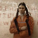 ames Bama (b. 1926).A Contemporary Sioux Indian, 1978. Oil on panel. William E. Weiss Contemporary Fund Purchase. 19.78