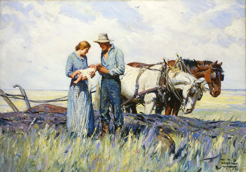 'The Homesteaders' by W.H.D. Koerner. 24.77