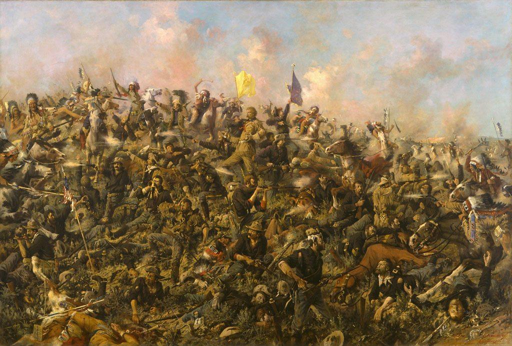 'Custer's Last Stand' by E.S. Paxson. 19.69