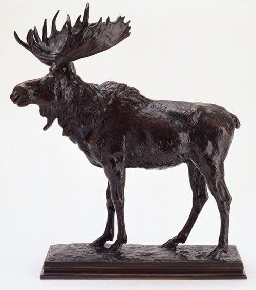 'Moose' by Alexander Phimister Proctor. 53.61