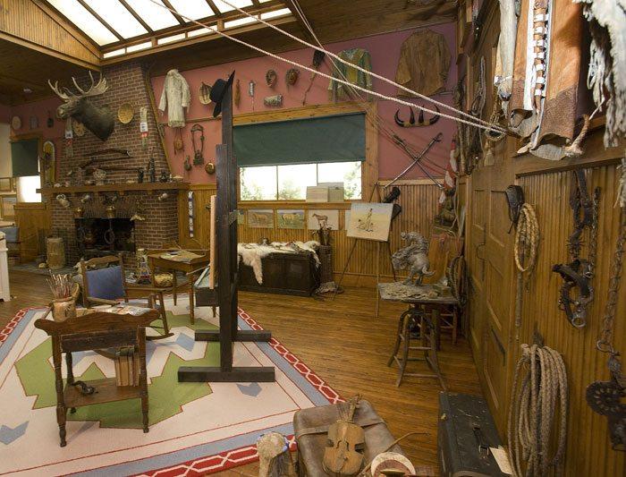 Remington Studio exhibit