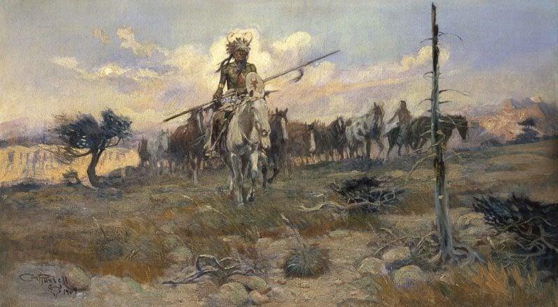 Charles M  Russell - Whitney Western Art Museum - Buffalo