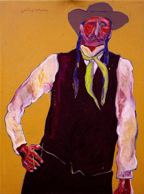 'Half Breed' by Fritz Scholder. 25.91.1