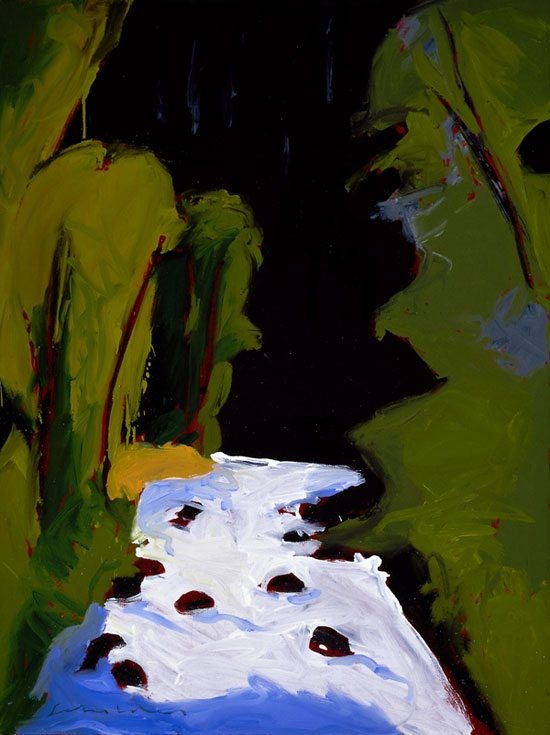 'Aspen Summer' by Fritz Scholder. 25.91.2