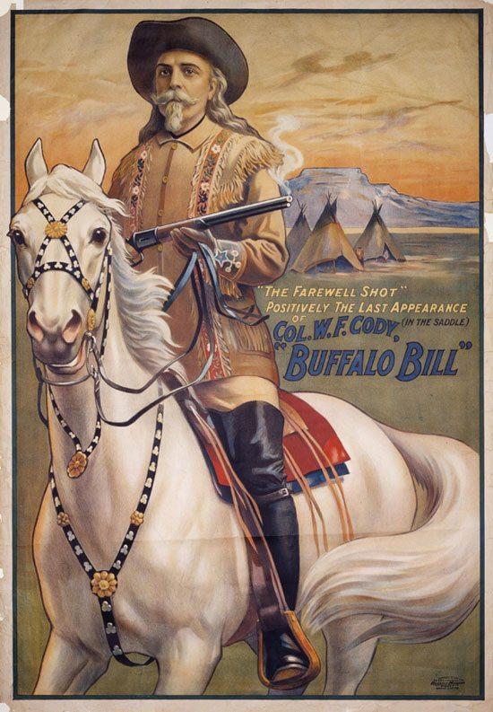 'The Farewell Shot' poster. 1.69.137. Buffalo Bill Center of the West.