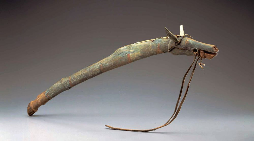 Dance stick, ca. 1885. From 'Splendid Heritage.' WC8805005