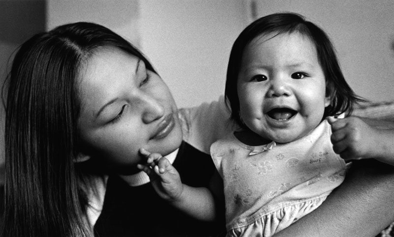 Tessa Bell and Patricia by Sara Wiles, an image in the Arapaho Journeys exhibition