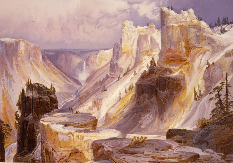 'Grand Canyon, Yellowstone' by Thomas Moran. 18.71.8