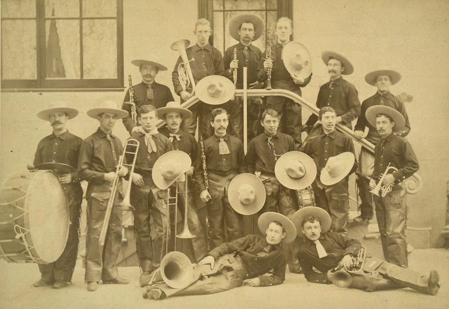 Buffalo Bill's Cowboy Band. P.6.65
