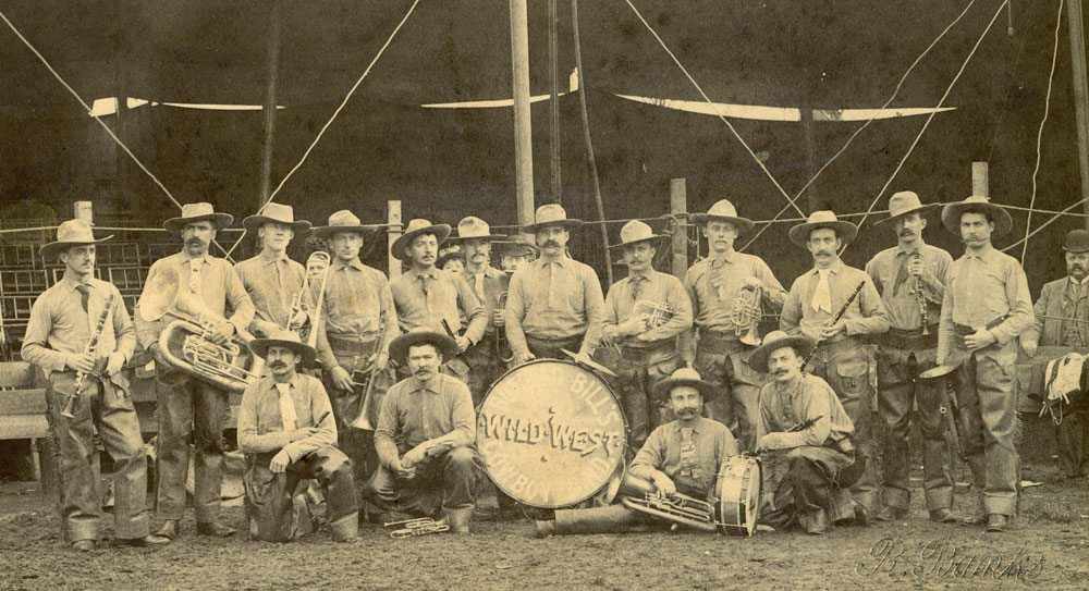 Buffalo Bill's Cowboy Band, or the Buffalo Bill Band. P.69.1143