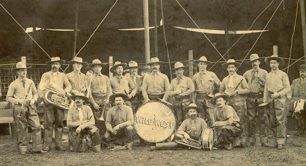 Buffalo Bill's Cowboy Band, or the Buffalo Bill Band. P.69.1143