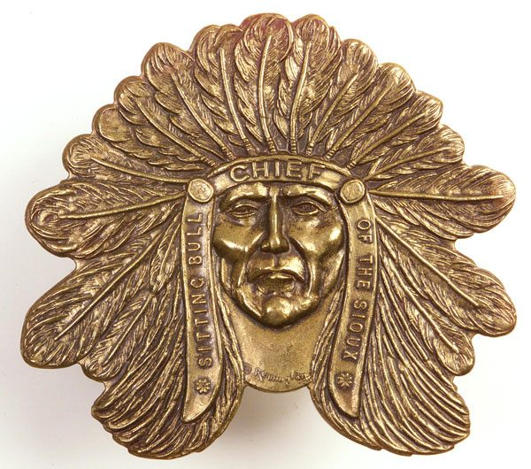 Indian head belt buckle. P.69.62