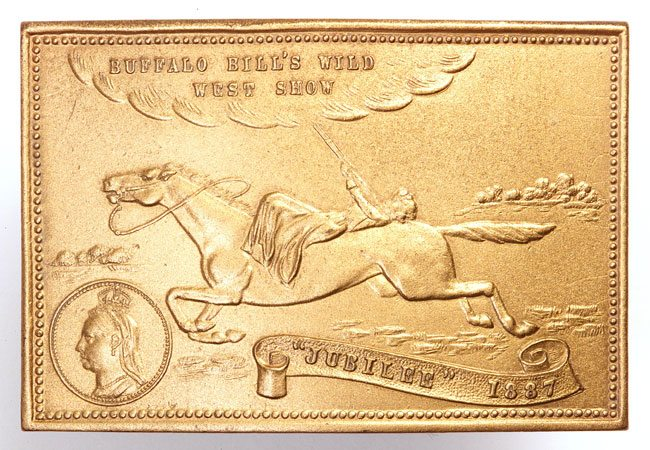 Jubilee belt buckle. P.69.63