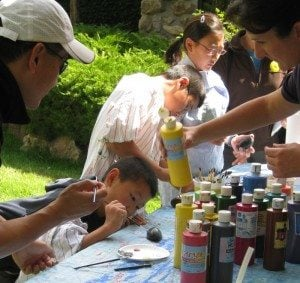 Family Fun Day: Summer pARTy! @ Center of the West's gardens | Cody | Wyoming | United States