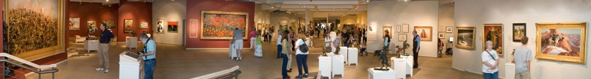 Whitney Western Art Gallery panorama. Jasen Hanson photo