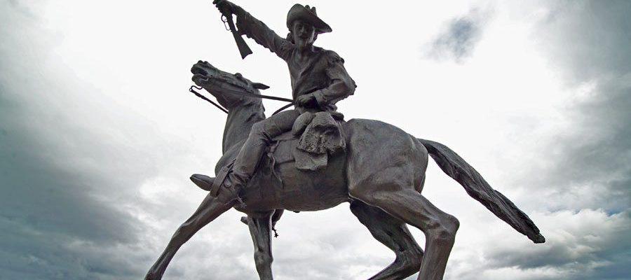 'Buffalo Bill-The Scout' by Gertrude Vanderbilt Whitney. 3.58