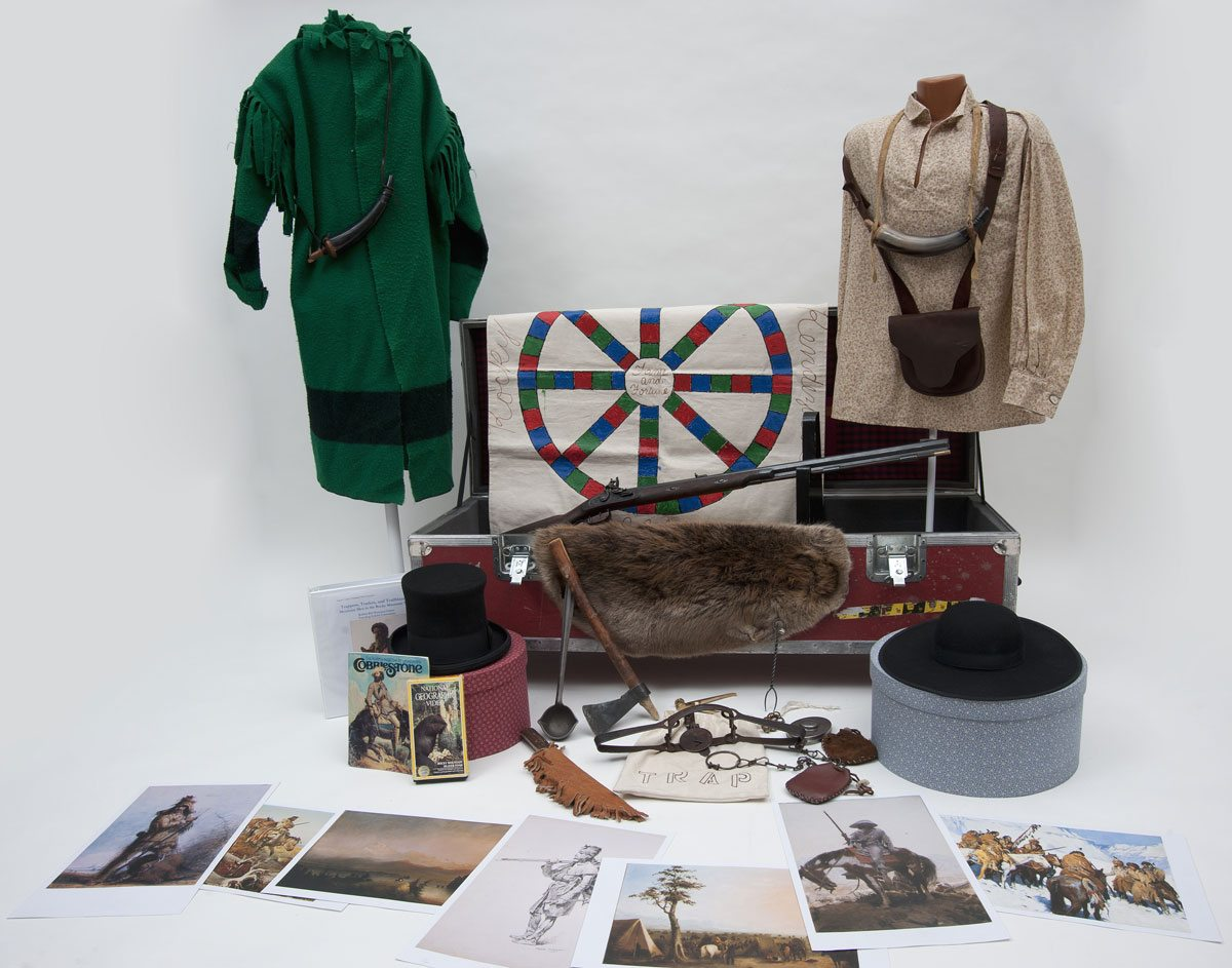 Trappers, Traders, and Trailblazers trunk