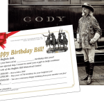 A gift for Buffalo Bill