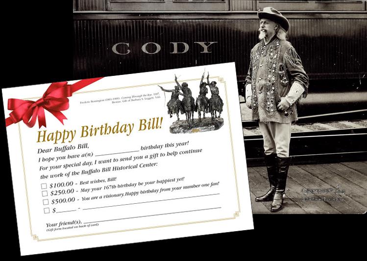 A Gift For Buffalo Bill