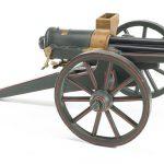 Gatling Gun patent model, patented November 4, 1862. L.373.2012.51