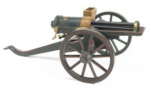 Gatling Gun patent model, patented November 4, 1862. L.373.2012.51