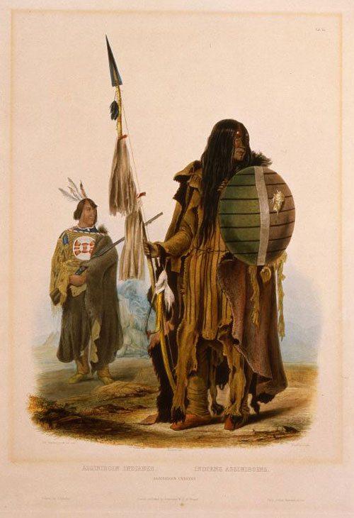Karl Bodmer's 'Assiniboin Indians,' 21.69.68