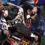 Sheldon Shebala, Plains Indian Museum Powwow dancer