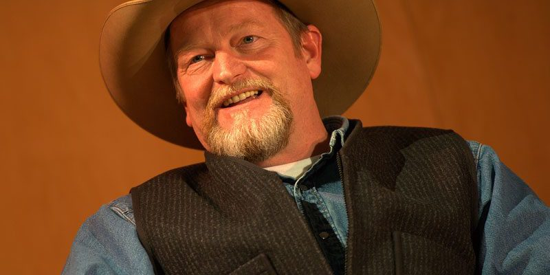 Novelist Craig Johnson, author of the Walt Longmire Mystery series