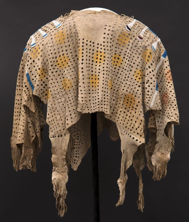 Shirt, Paul Dyck Plains Indian Buffalo Culture Collection. NA.202.1.1209