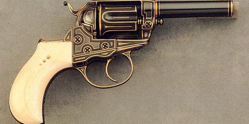 "Colt Model 1877 ""Thunderer"" Double Action Revolver, .41 Caliber. Gift of Raymond J. Wielgus. 2010.17.36"